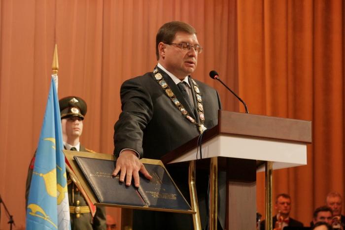 Поздравление главы инаугурация